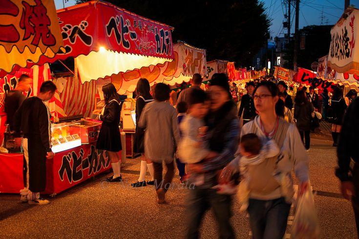 Japanese street food or yatai