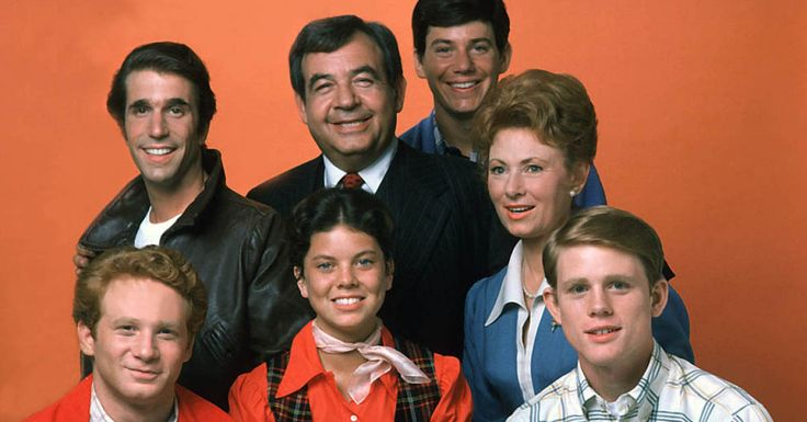"Happy Days, which ran for a decade from 1974 to 1984, was not expected to be a hit. The 1971 pilot film, originally titled New Family in Town, went unsold for years. It would end up as an installment of Love, American Style called ""Love and the Television Set."" It would take the massive success of a certain George Lucas film (not Star Wars) to get Happy Days on the air. The hit sitcom would spawn five — five! — spin-offs, including Laverne & Shirley.But we're getting ahead of ourselves…"
