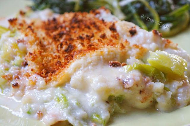 Kitchen Stories: Fish Fillet and Leek Gratin