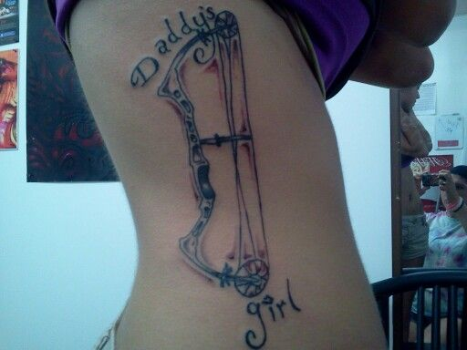 Diamond archery tattoo (: