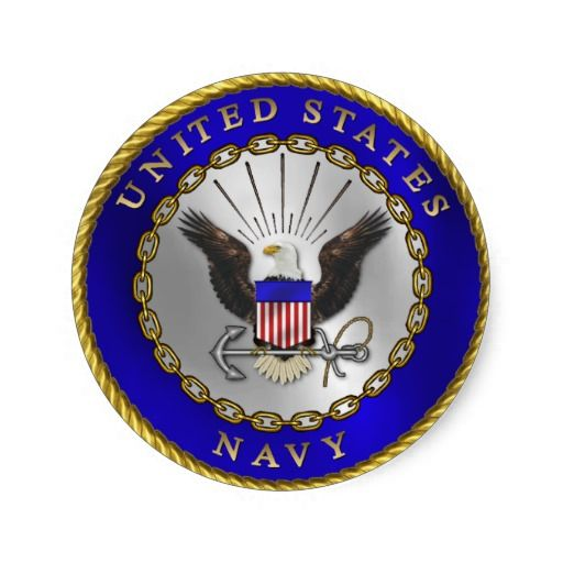 U.S. Navy Emblem stickers that could possibly used for the invitations and/or decorations for my sons Graduation / US Navy Going Away party.