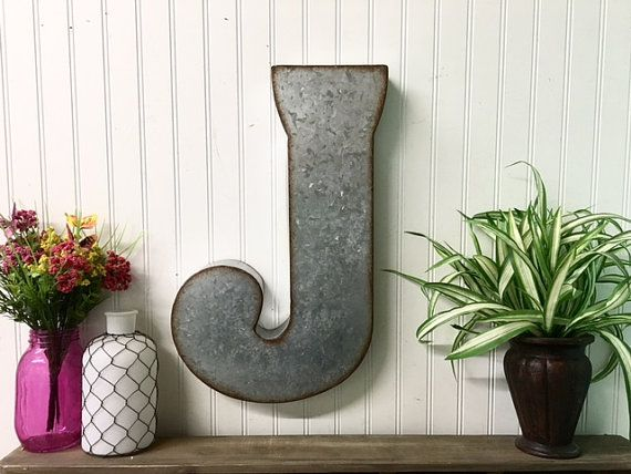 Large Metal Wall Letters best 25+ rustic wall letters ideas on pinterest | farmhouse wall
