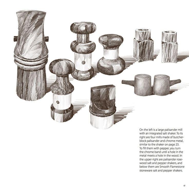 Danish Pepper Quistgaard Dansk Modern Teak Mill Book | eBay