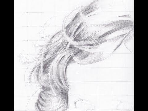 Teken Blond Haar Met Potlood | Hoe te tekenen krullend haar | Mijn Drawing Tutorials - Art Made Simple!