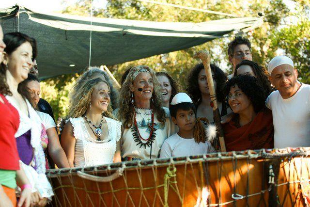 White Eagle and Israeli community, Israel on Grandmother Drum