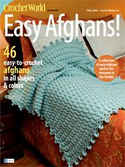Easy Afghans Fall 2012 from AnniesCatalog.com -- Make the most of your precious crochet time with these 46 EASY-to-stitch afghan patterns!
