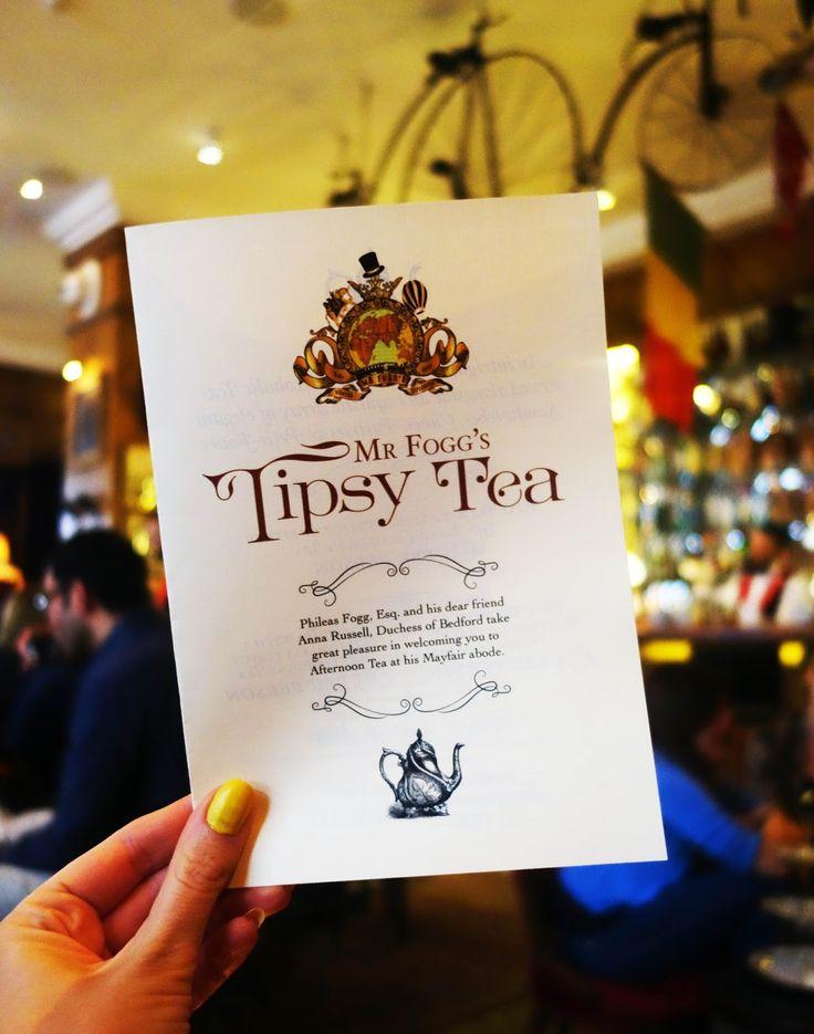 AMAZING COCKTAILS Tipsy Tea @ Mr Fogg's