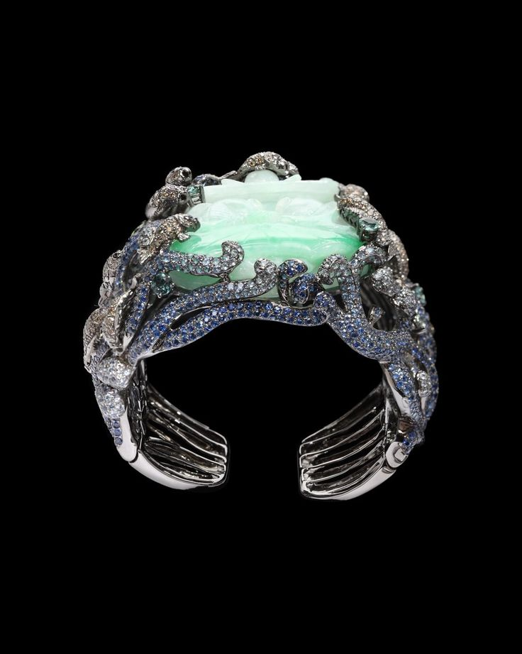 lydia courteille collection | ... & Diamond Fish Cuff - Lydia Courteille Collection - CoutureLab.com