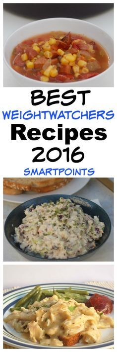 Best Weight Watchers Recipes 2016 from all my Favorite WW Recipe Blogs with SmartPoints