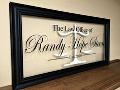 Gifts for Attorneys Lawyer Gift Law Office Decor by TheBindingTie