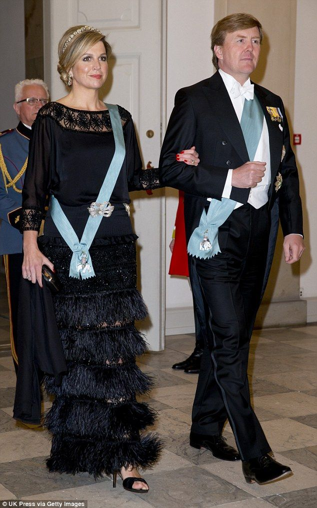 Guests: Queen Maxima of the Netherlands and King Willem Alexander of the…