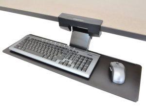 Computer Keyboard Holder Under Desk