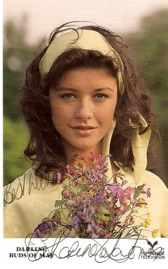 Catherine Zeta-Jones The Darling Buds of May! The most stunning woman I have ever seen in this beautiful idyllic TV series!
