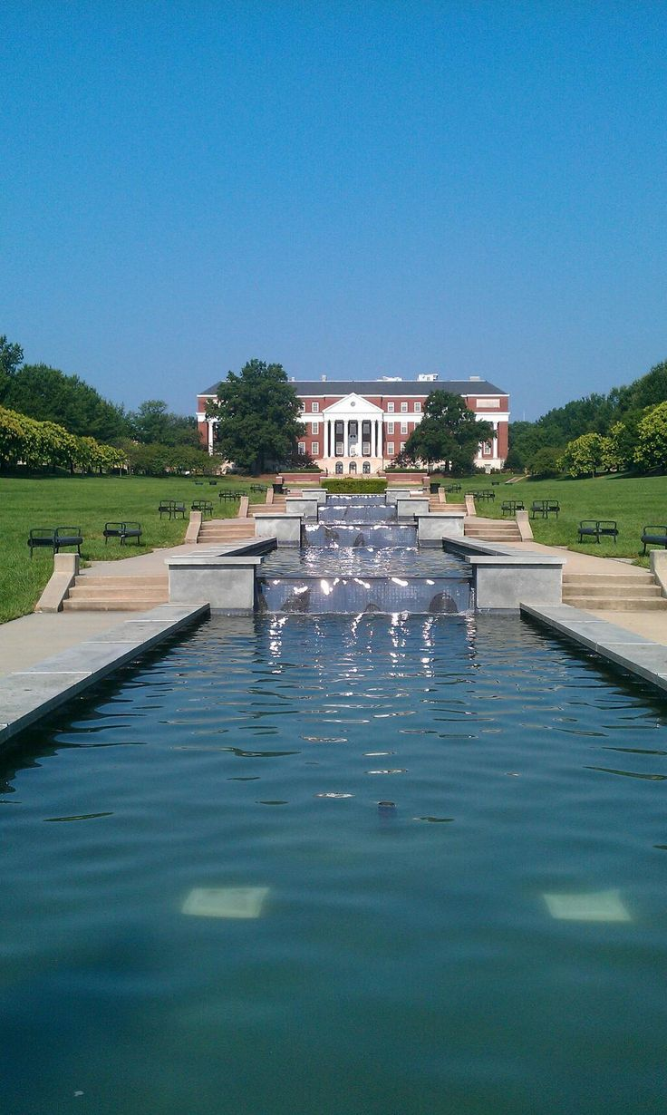 University of Maryland, College Park.  Scene Setter/Medium Shot