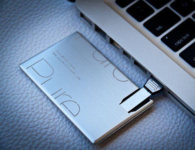 Fancy - USB Metal Business Card
