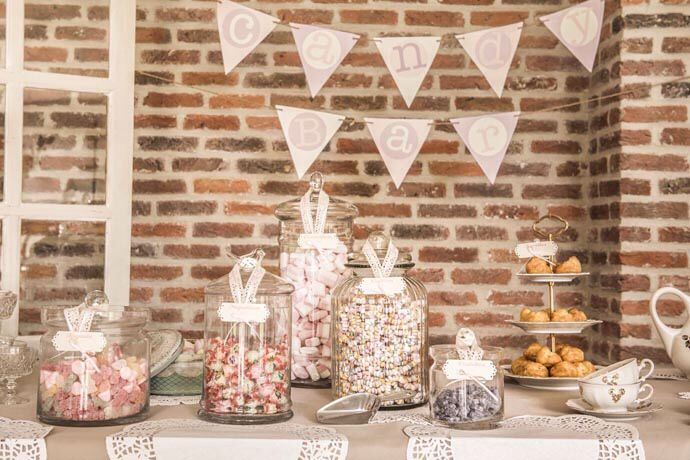 Candy bar D Day Deco