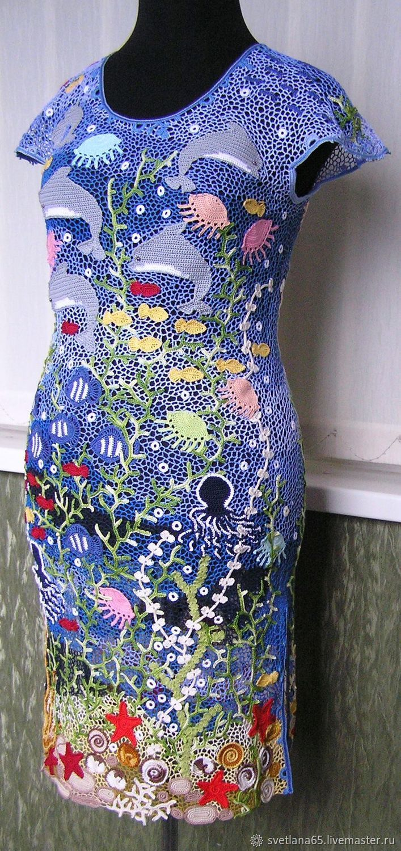 Платье Синие Ирландия