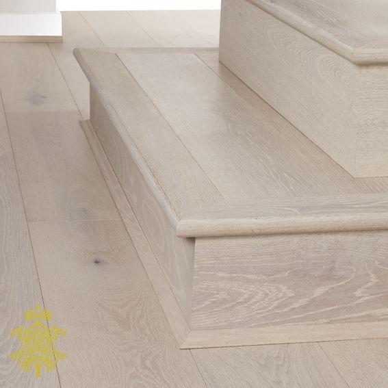 Arctic Oak GrandOak™ Engineered Oak Timber Flooring Stair Nose | Lion King  Flooring
