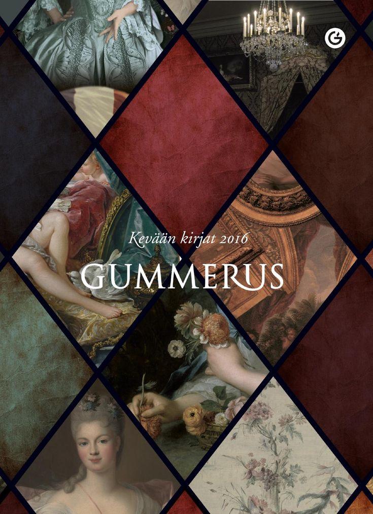 Gummerus Kevään kirjat 2016