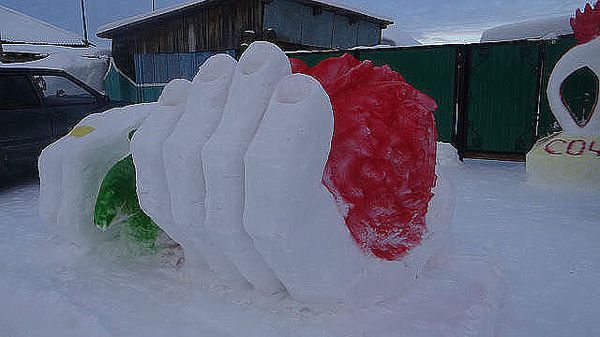 С Наступающим Новым Годом!!! ♥ - Группы Мой Мир | снежные и ледяные скульптуры | Постила