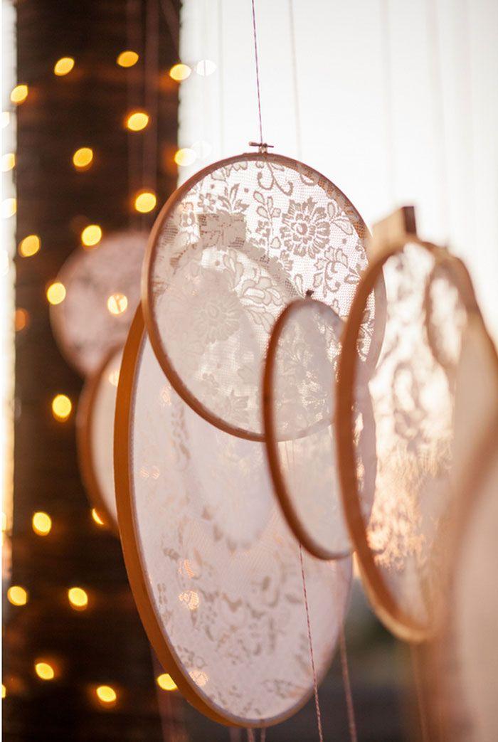 #coisinhasqueamamos: Bastidores com renda | Blog do Casamento