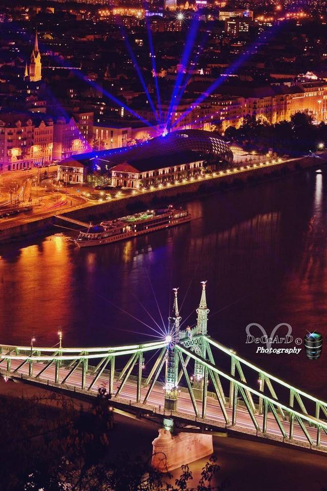 Szabadság híd és a CET
