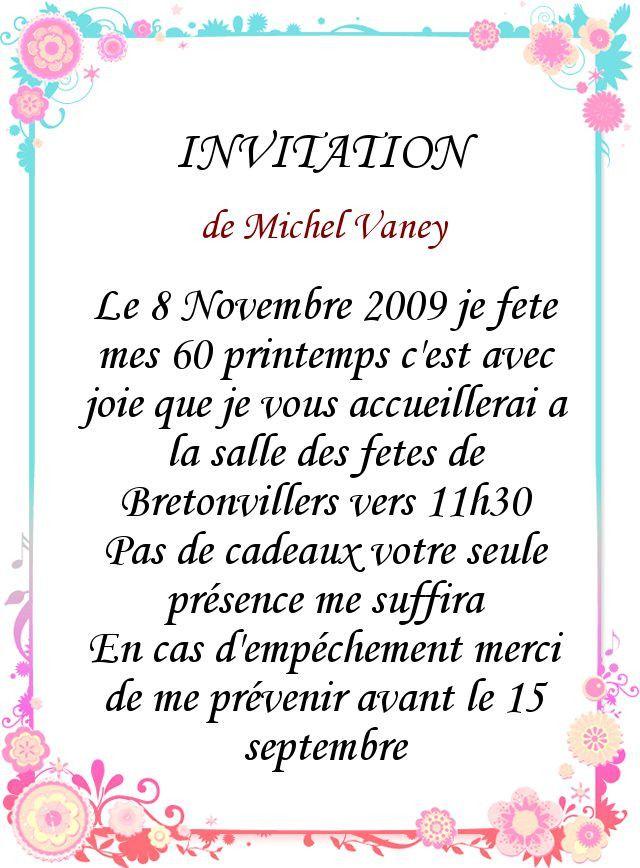 Lettre D'invitation Pour Un Anniversaire 10 Ans Best Of Texte D Invitation Anniversai…   Texte ...