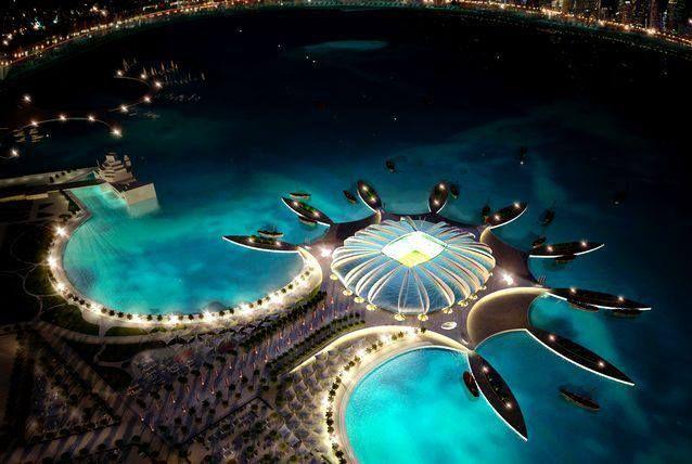 2022 FIFA world cup stadium in QATAR