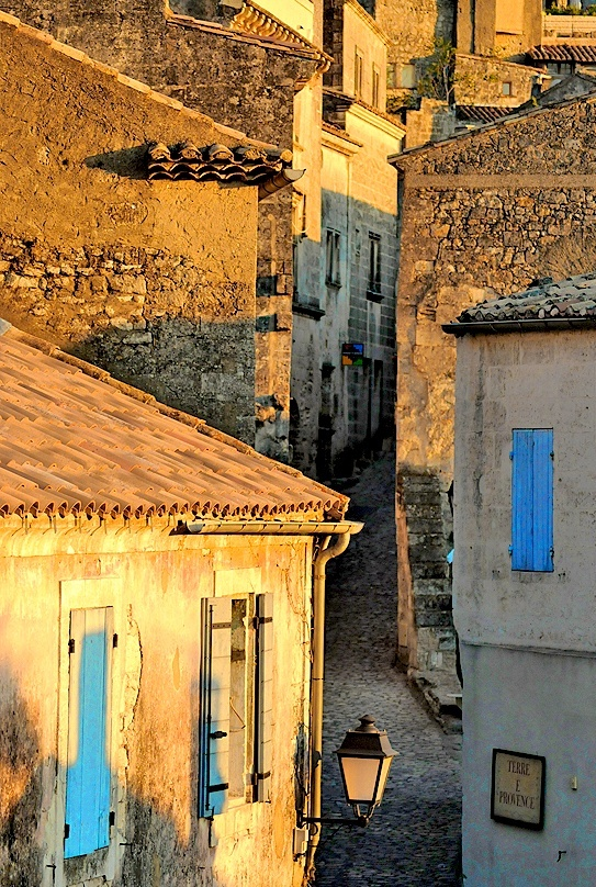 The light in the south of France.  This looks exactly like where we spent a beautiful week in St. Martin de Bromes in September, 2012