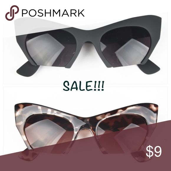 Sunglasses Sale!!! You get BOTH PAIRS for $9!!! Both are new Accessories Sunglasses
