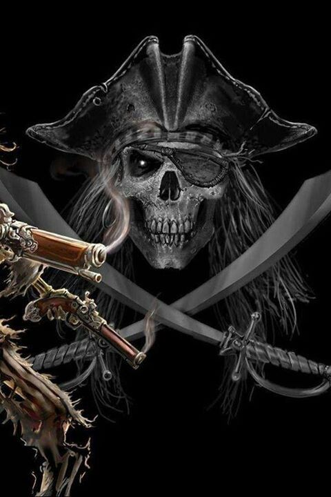 Pirates:  #Pirate Calaca.