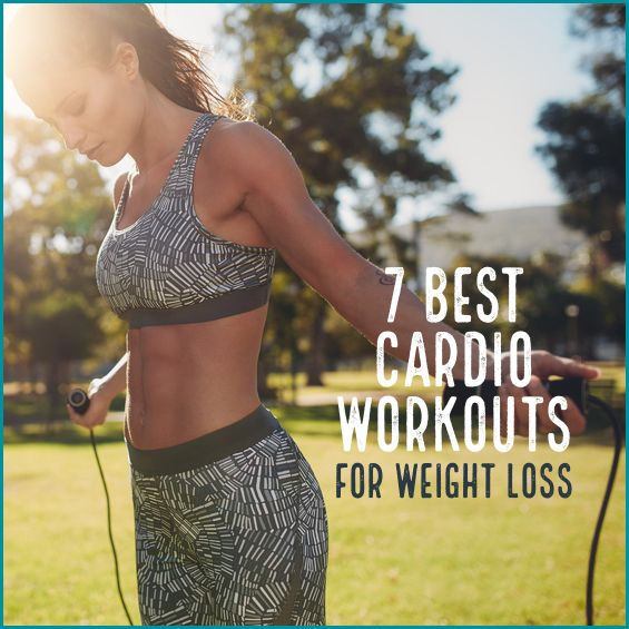 From jumping rope to running stairs, these fun and simple cardio workouts are surprisingly effective at burning calories.