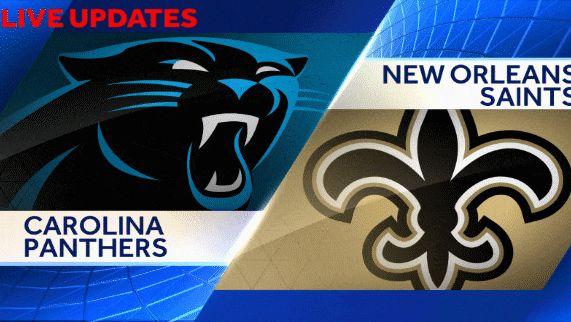 Panthers Vs Saints Live Updates