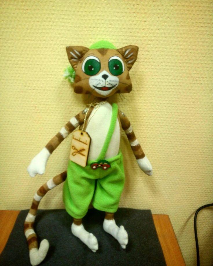Сделаю на заказ. Кот Финдус. #кот #финдус #финдусипетсон #кошка #handmade #игрушки #игрушкиручнойработы #ароматнаяигрушка #новыйгод #подарки #alistoys.ru #котики #кошки #коты #findus #cat #cats #kitty #alisabeydik