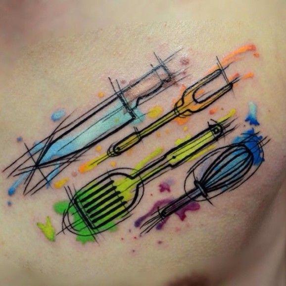 Pretty tattoo by Hami Iffy-Négyökrű