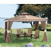 Found it at Wayfair - Louisa 12 Ft. W x 10 Ft. D Aluminum and Steel Gazebo