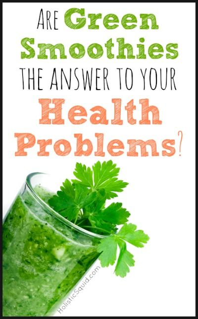 Are Green Smoothies Good For YOU - Holistic Squid
