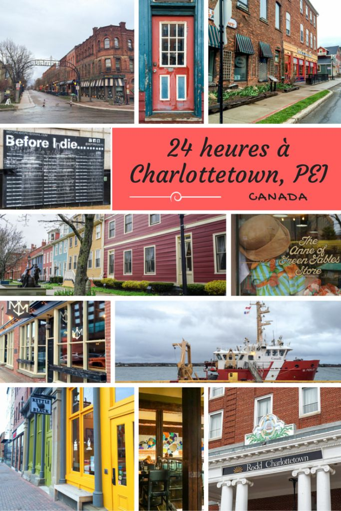 Charlottetown - Prince Edward Island, Canada. A colorful town to discover in the East of the country.