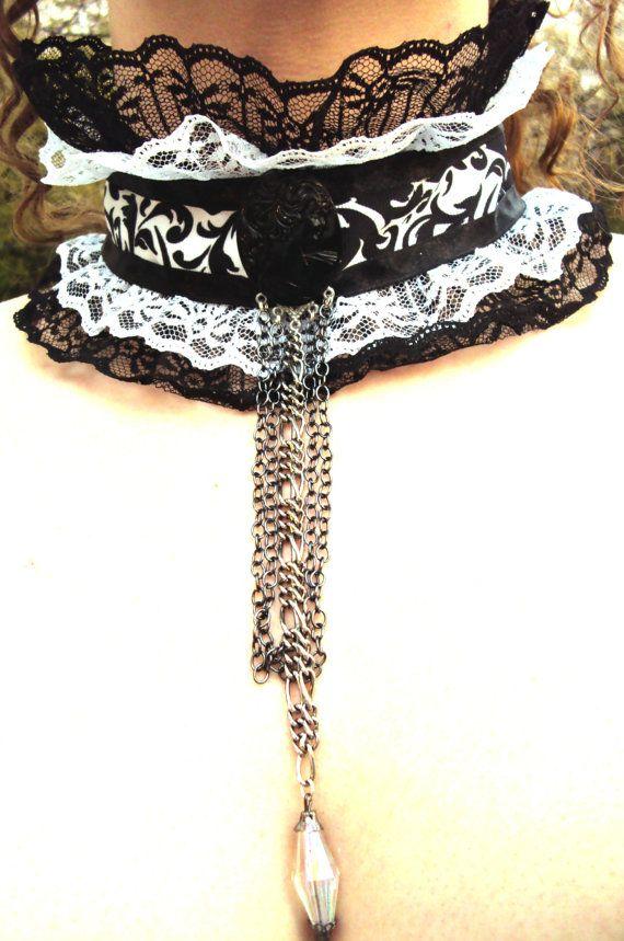 Gothic Victorian Vintage Style Vampire Queen by MirrorIrorriM, $35.00