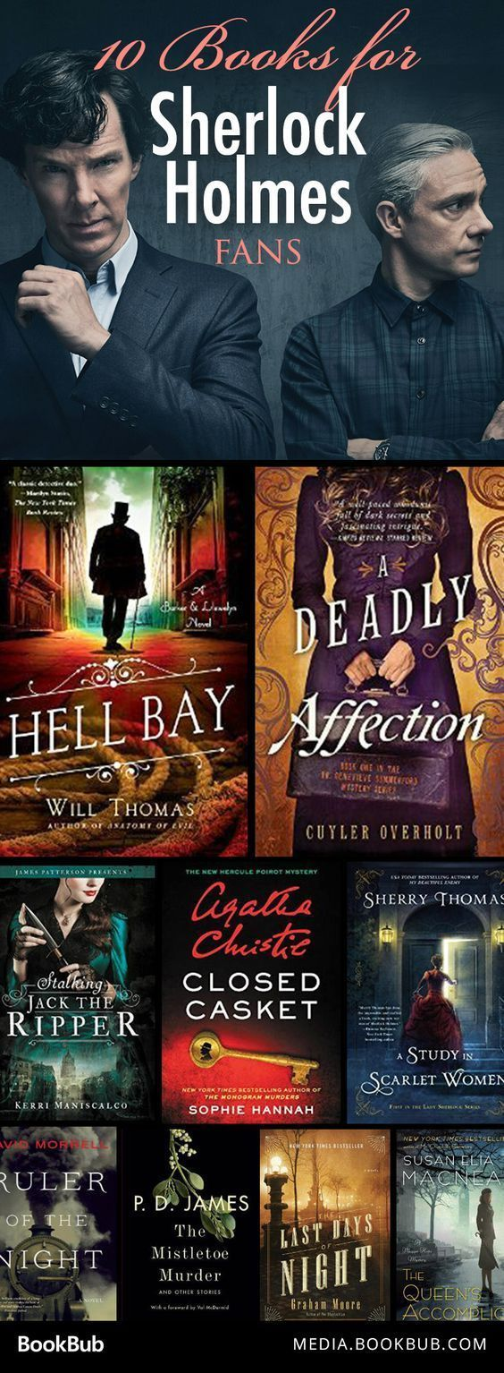 10 Books To Read If You Love 'sherlock Holmes'