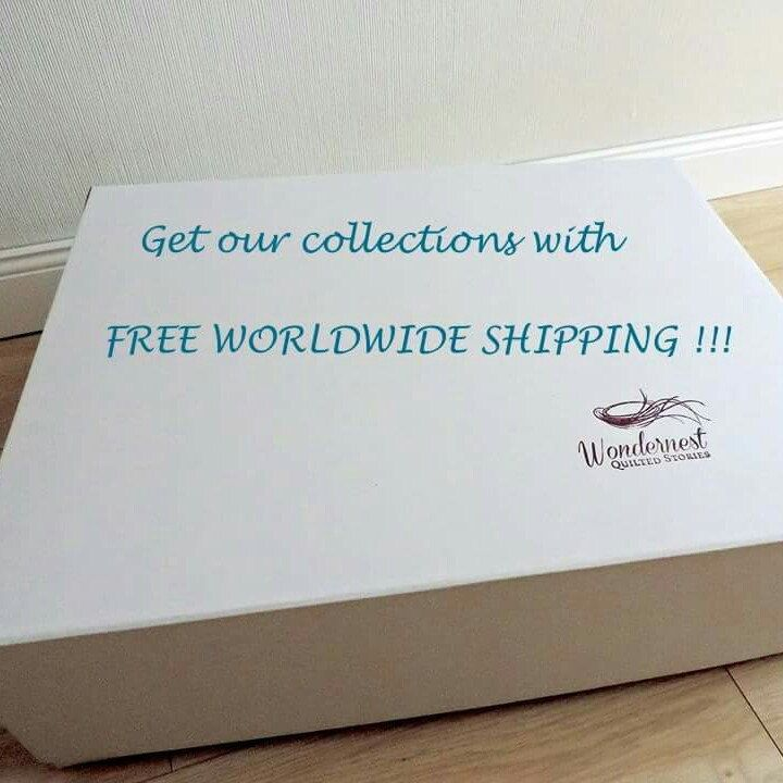 Big news for all our Worldwide customers. Get our collections with FREE WORLDWIDE SHIPPING! Don't miss out!