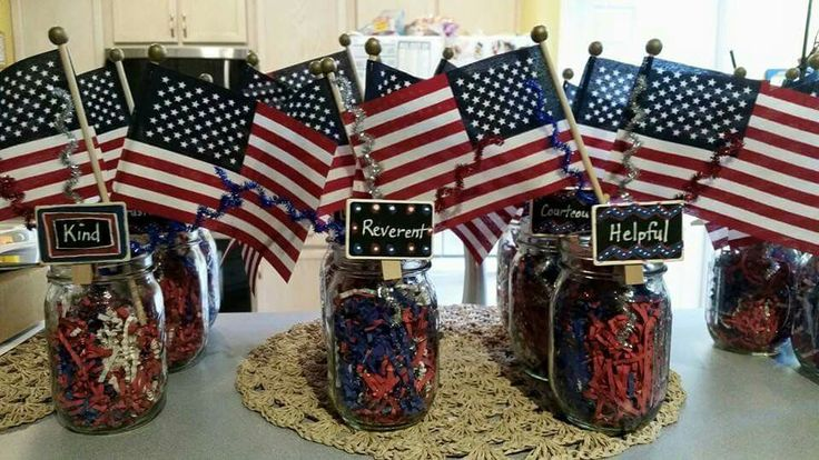 Eagle Scout Court of Honor centerpieces                                                                                                                                                                                 More