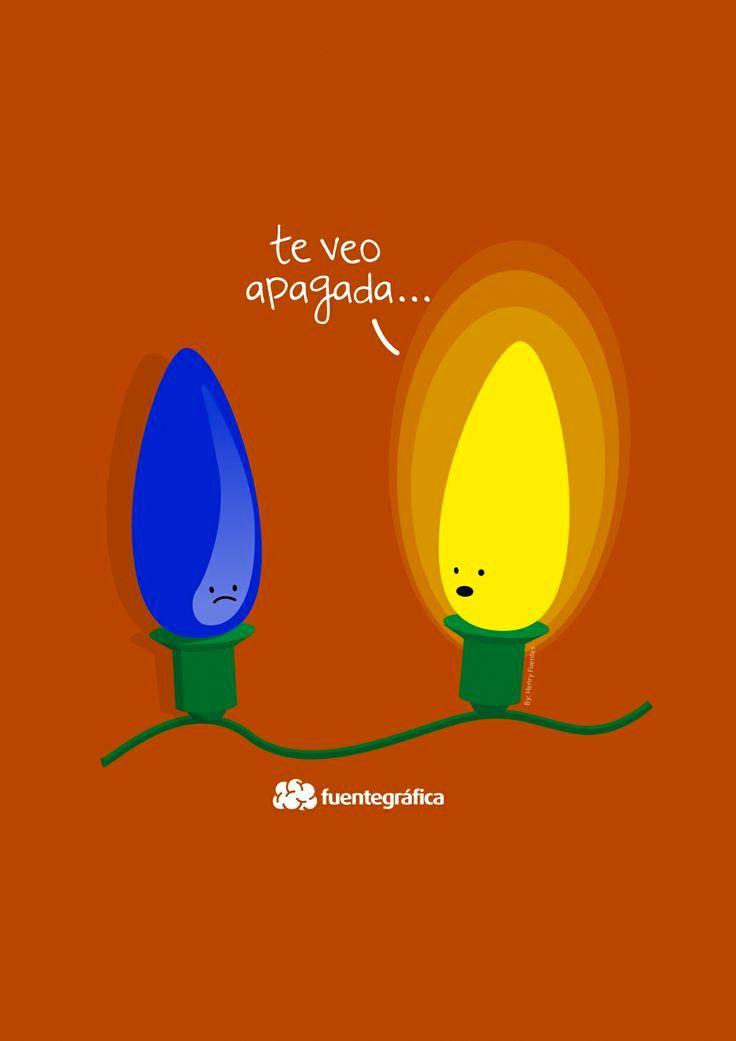 Te veo apagada - Happy drawings :)