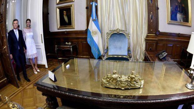 Macri íntimo, entre la penumbra de su despacho y el nuevo avión presidencial | Big Bang! News – Adribosch's Blog