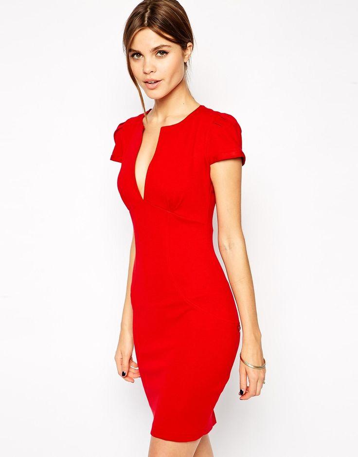 ASOS - Mini robe fourreau sexy