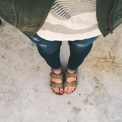 Wear birkenstocks at college orientation!