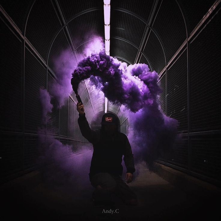 """""""Andy's Moody Takeover When it comes to using smoke grenades in photography, having a unique composition is really something I try to apply in my shots.…"""""""