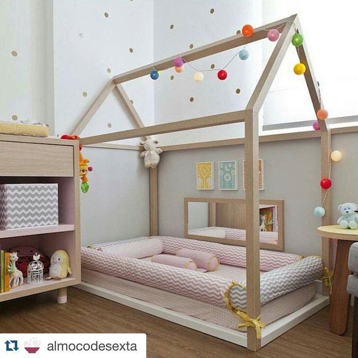 Las 25 mejores ideas sobre camas ni os en pinterest y m s for Cuartos para ninas montessori