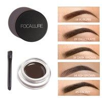 Women Gilrs Long Lasting Waterproof Dye Eyebrow Cream Gel Chocolate Brown Eye brow Makeup Tool