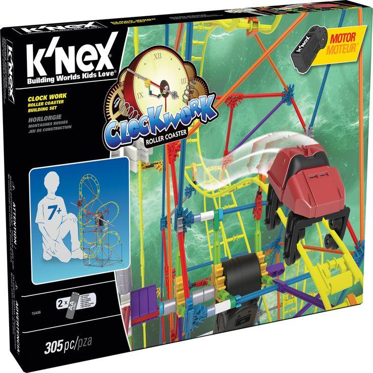 KNEX Clock Work Roller Coaster Building Set - 15406